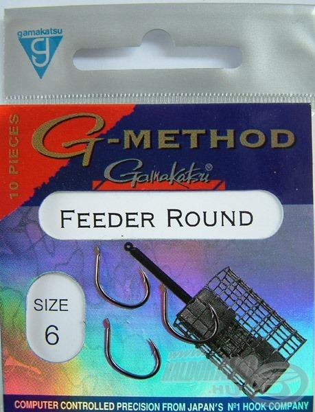 Ha rendesen eszik a hal, és egy stabil öblös horogra van szükségünk, akkor a Feeder Round jó szolgálatot tehet