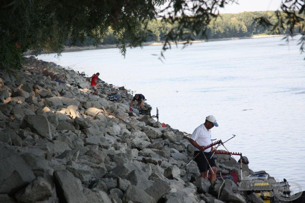Különös gondossággal kell kiépíteni a horgászállást