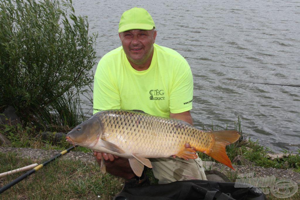 Egy újabb szép hal az A szektorból
