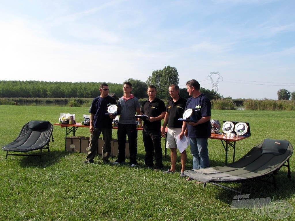 A legtöbb díjat magáénak tudó csapat a Sufix Team