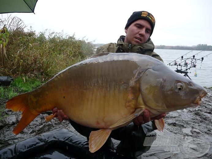 A 2010-es verseny legnagyobb hala: 21,43 kg