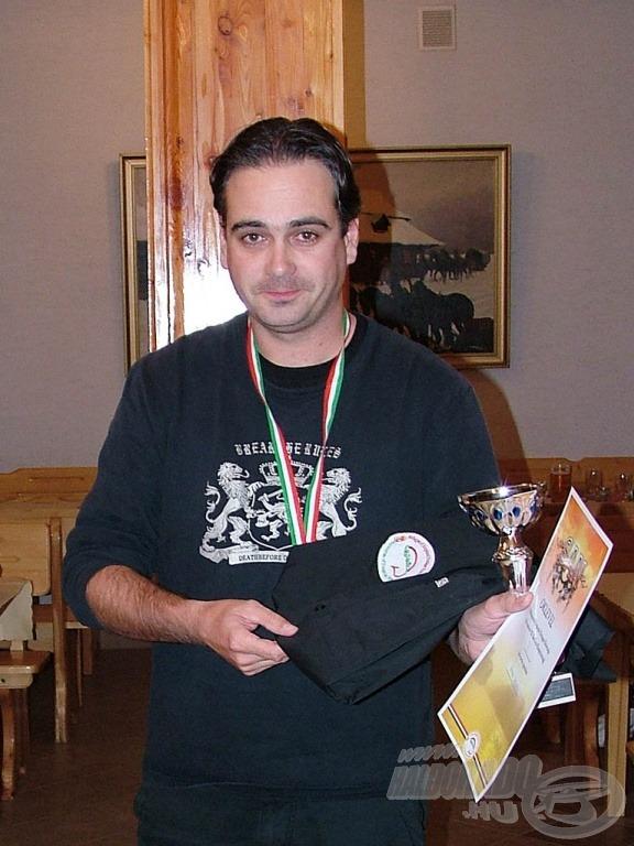 Az ezüstérmes: Kovács Gergely