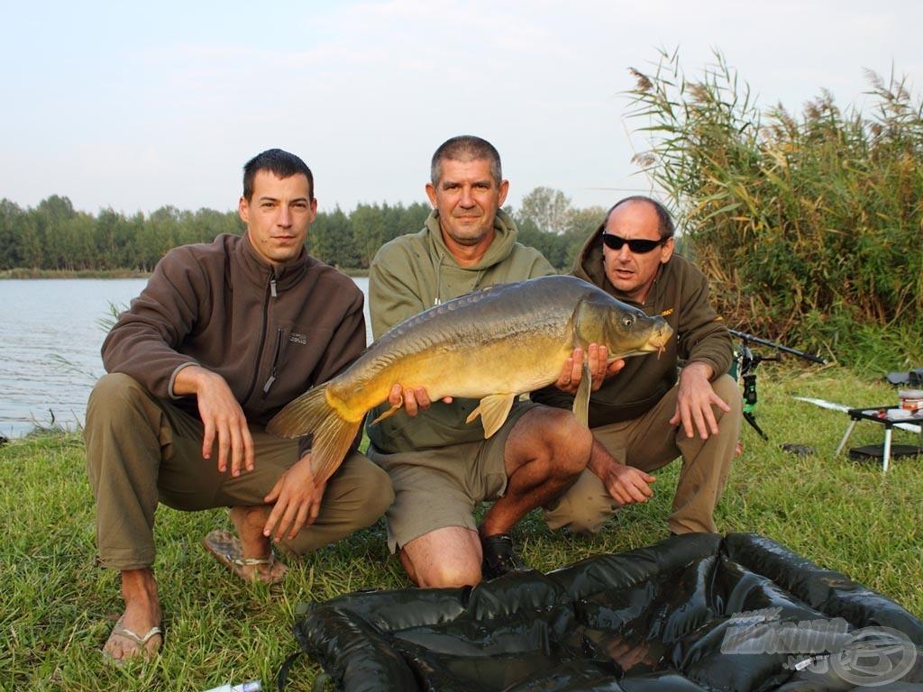 A Horgászsajtó-Starbaits Team keményen megküzdött minden megfogott halért