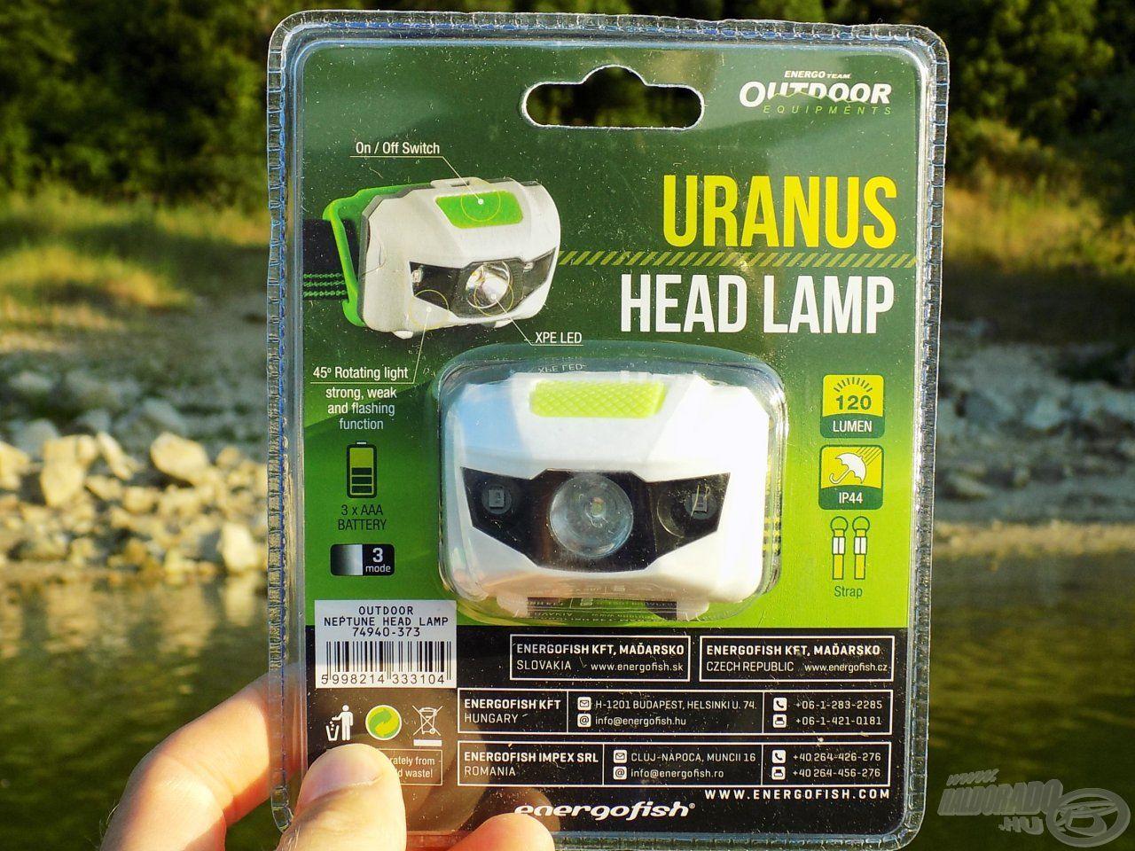 Az Uranus több LED-del rendelkezik, de fényerőben nem marad alul a Marshoz képest
