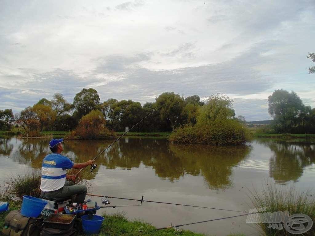 Lassan letelik a horgászatra szánt időm