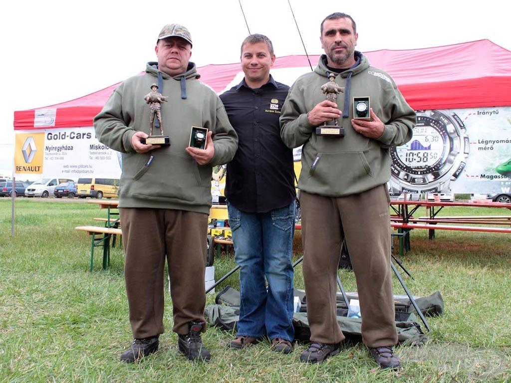 Legnagyobb halat megfogó csapat: C.C.Moore Team Hungary