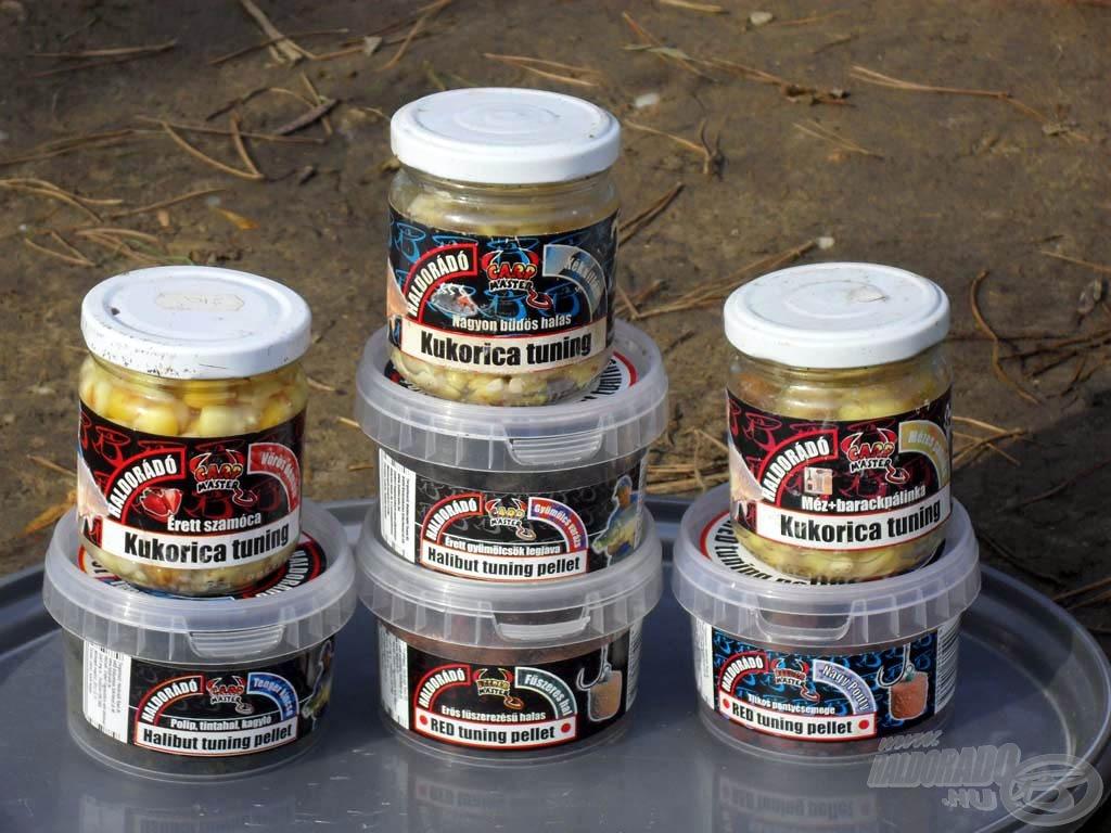 A Haldorádó termékekkel is kiemelkedő sikereket értem el a tavon