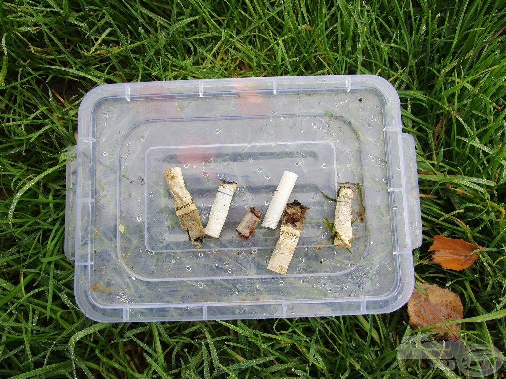 Sajnos van, aki még a cigarettacsikkeket sem takarítja el maga után