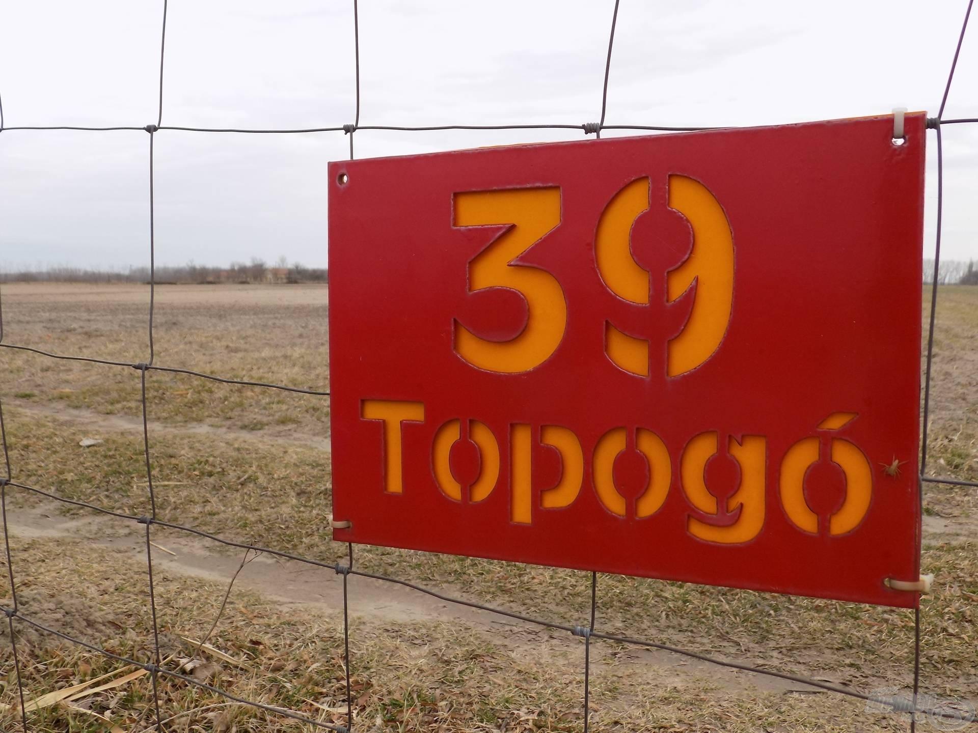 """Horgászhelyem a """"39-es Topogó"""" névre hallgatott, ez a tó képzeletbeli közepén helyezkedett el"""