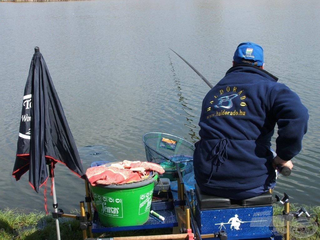 Kétségtelen, hogy rakós bottal tudunk a legfinomabban horgászni