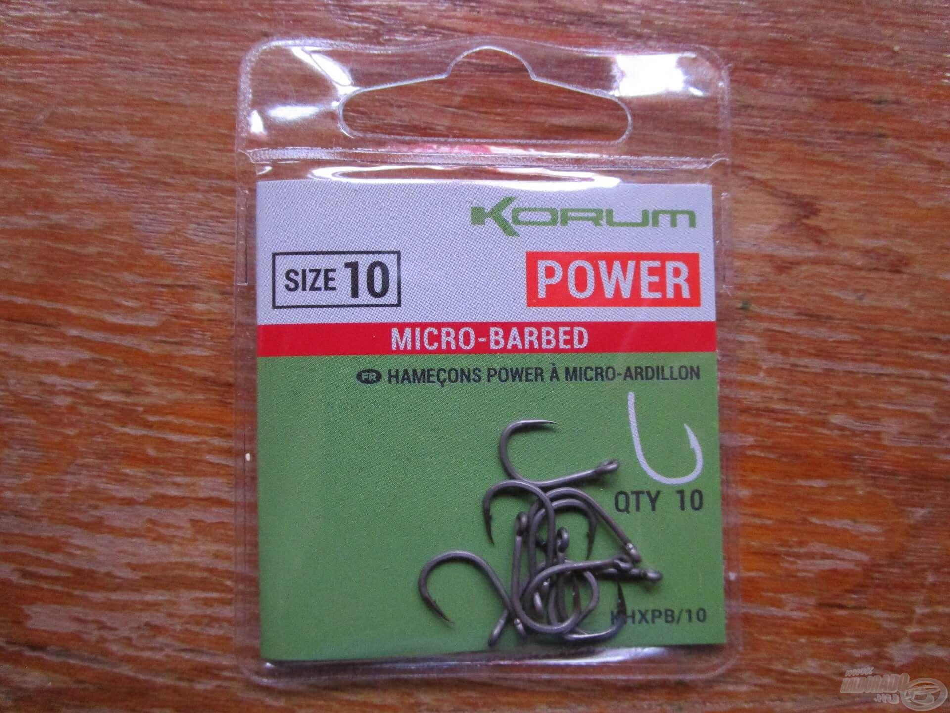 A Korum Power egy kerek öblű típus