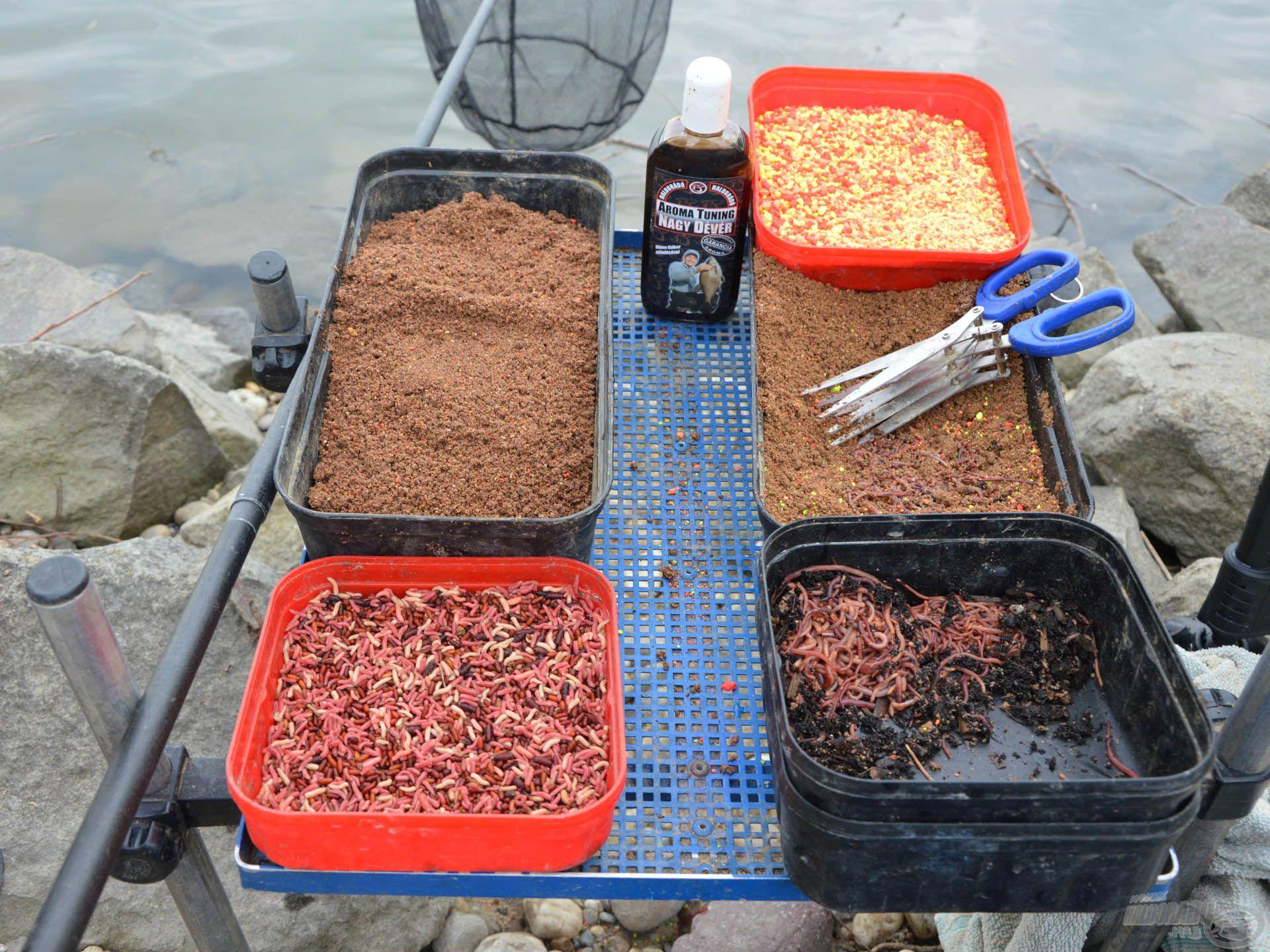 Sem etetőanyag, sem csali terén nem szeretem túlbonyolítani a horgászatokat