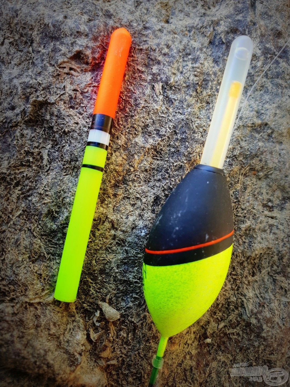 A cserélhető antenna helyére kerül a világítópatron az esti horgászathoz