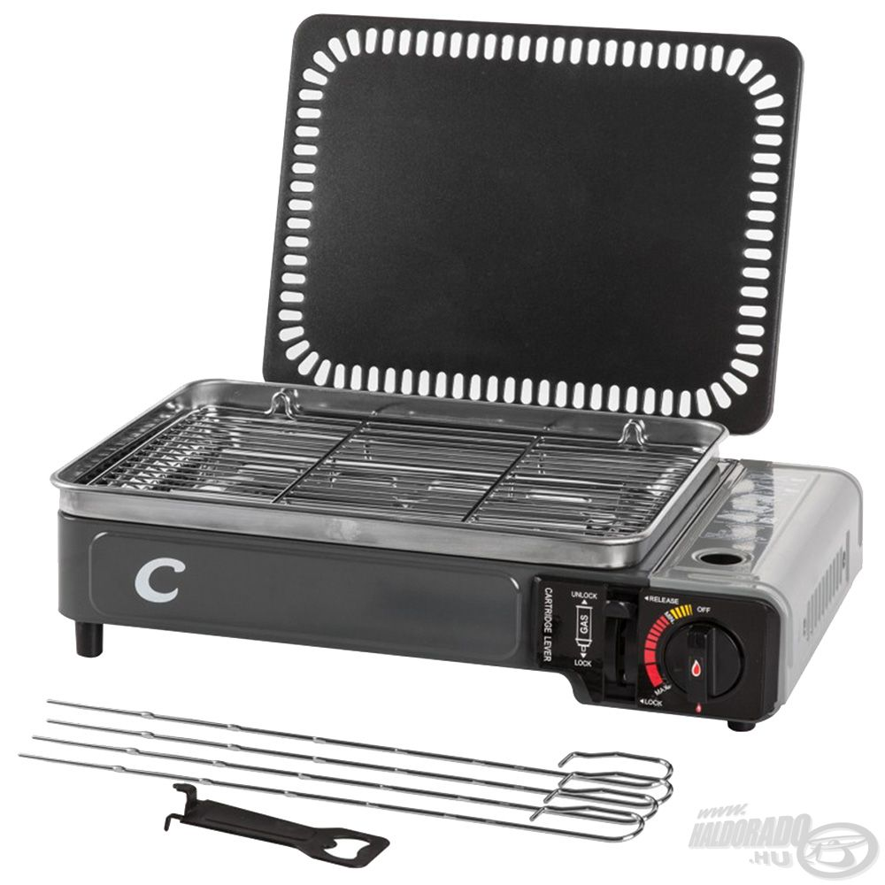 Minden tartozék, melyre egy grillezésnél szükség lehet