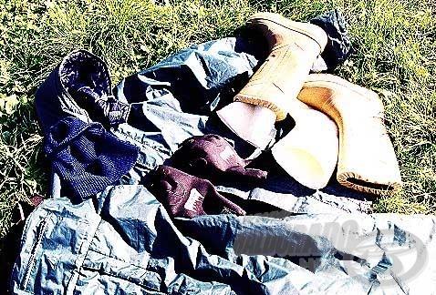 Megfelelő ruházatról gondoskodjunk a léki horgászat megkezdése előtt