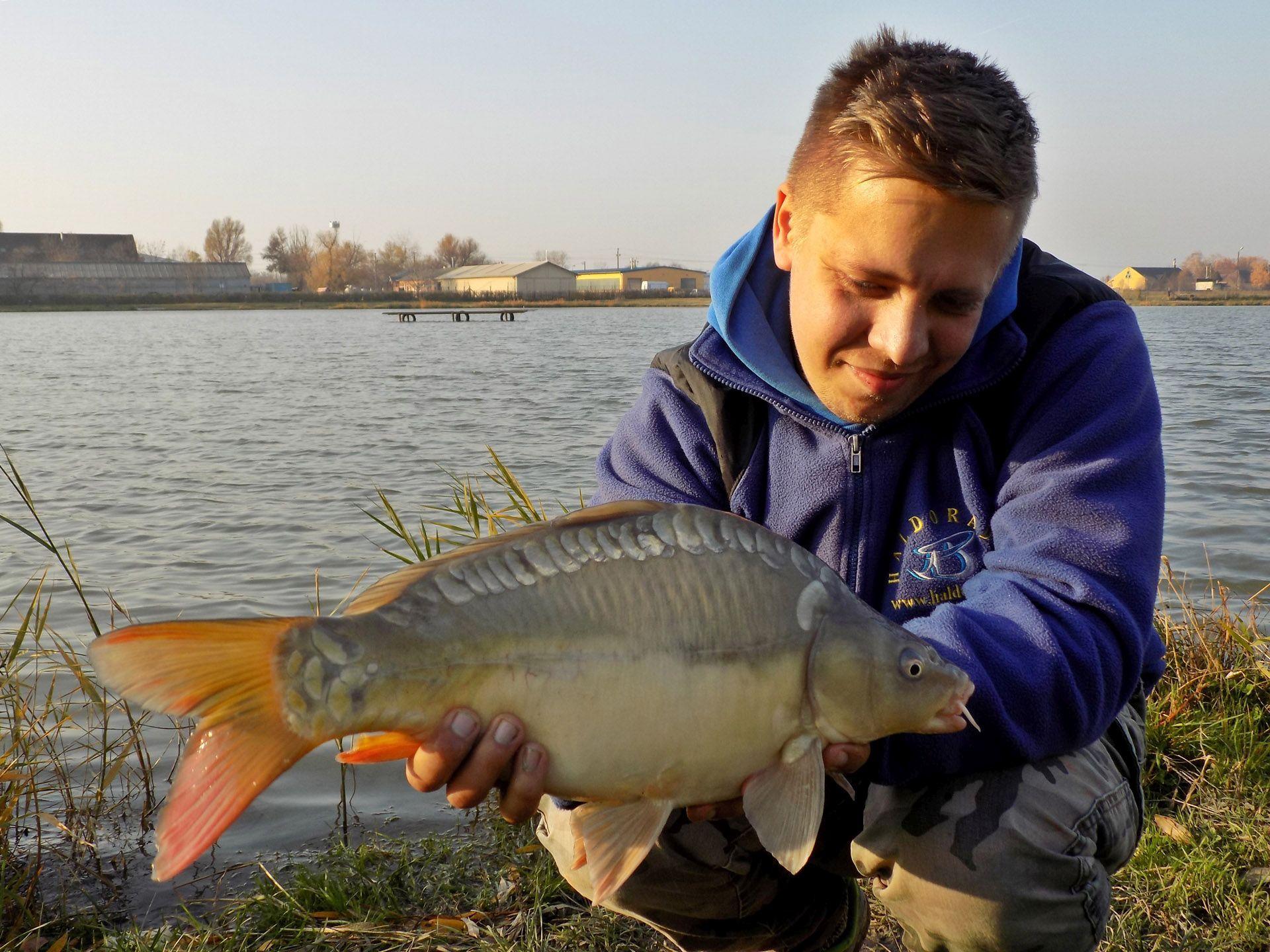 Az apró finomításoknak köszönhetően szinte nem volt kapásmentes időszak a horgászat alatt