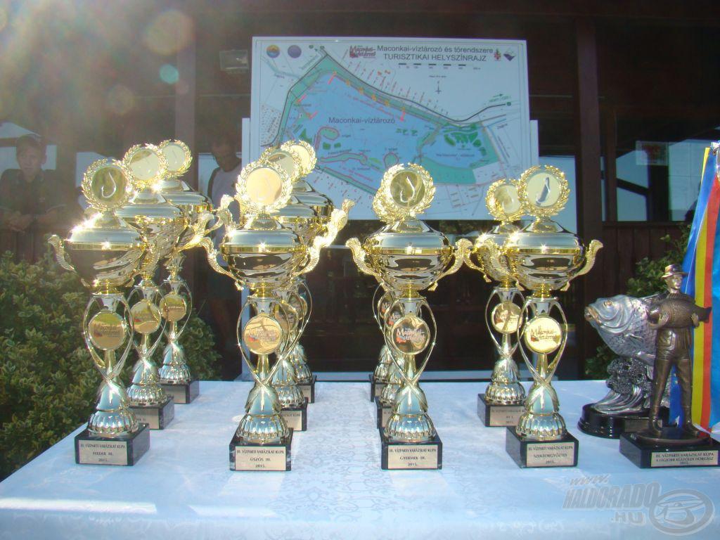 A záró forduló díjai
