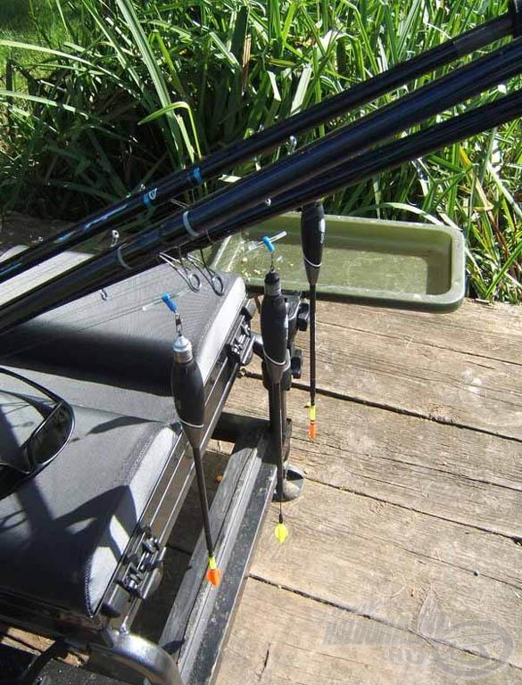 """Az ilyen """"egyszerű"""" horgászatokra egy könnyű ládával és előre felszerelt botokkal megyek"""