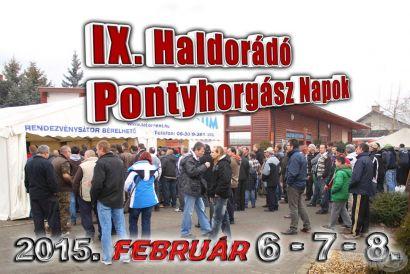 Meghívó a IX. Haldorádó Pontyhorgász napokra!