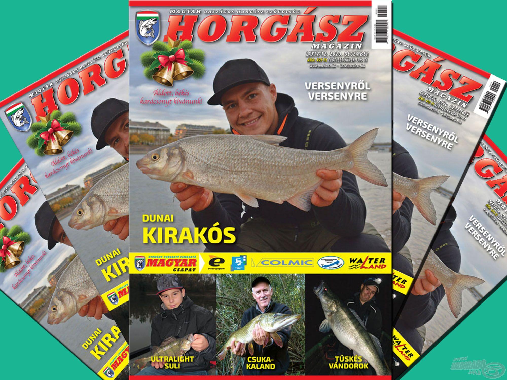 Megjelent a Magyar Horgász 2020. decemberi száma