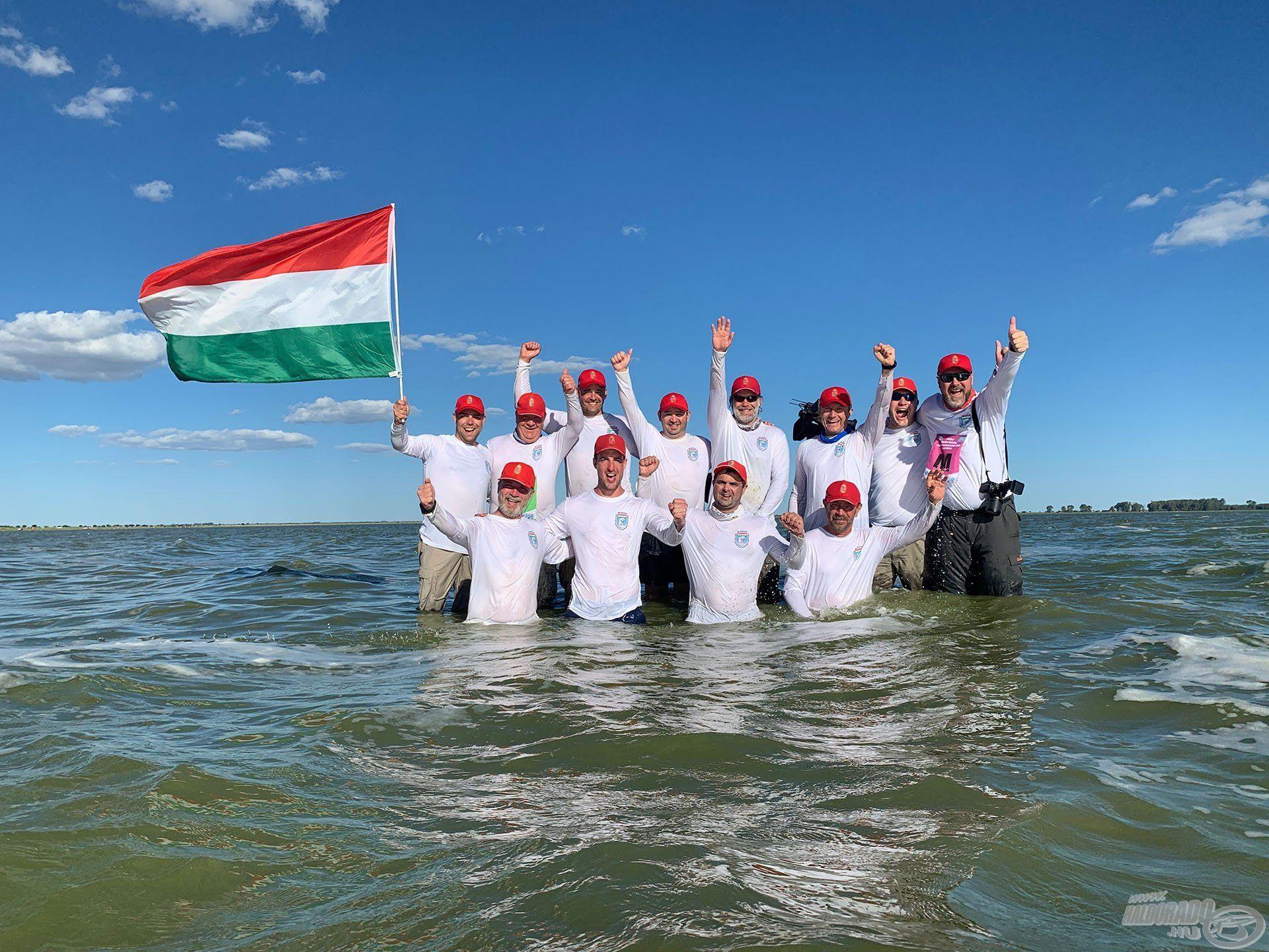 Horgászpályafutásom csúcsa, hogy csapat-világbajnoki címet szereztünk a magyar csapattal Dél-Afrikában