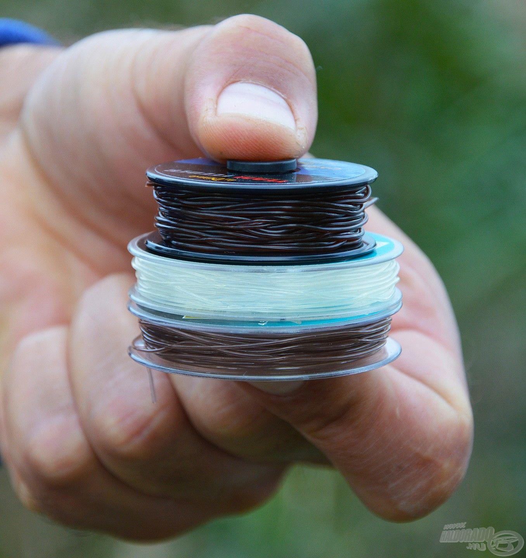 Nem csak méretben, de színben is különböznek egymástól az erőgumik
