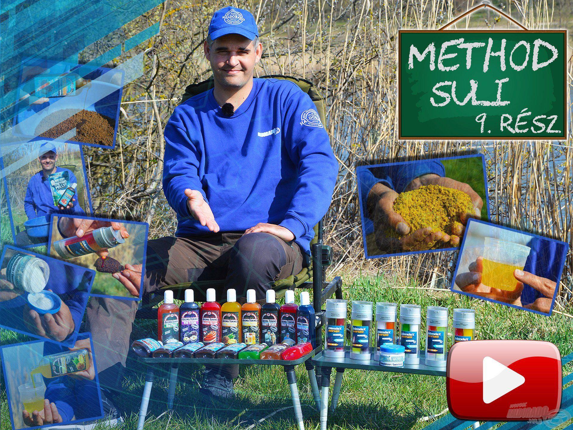 Method suli 9. rész – Ismerkedés az aromákkal, adalékokkal