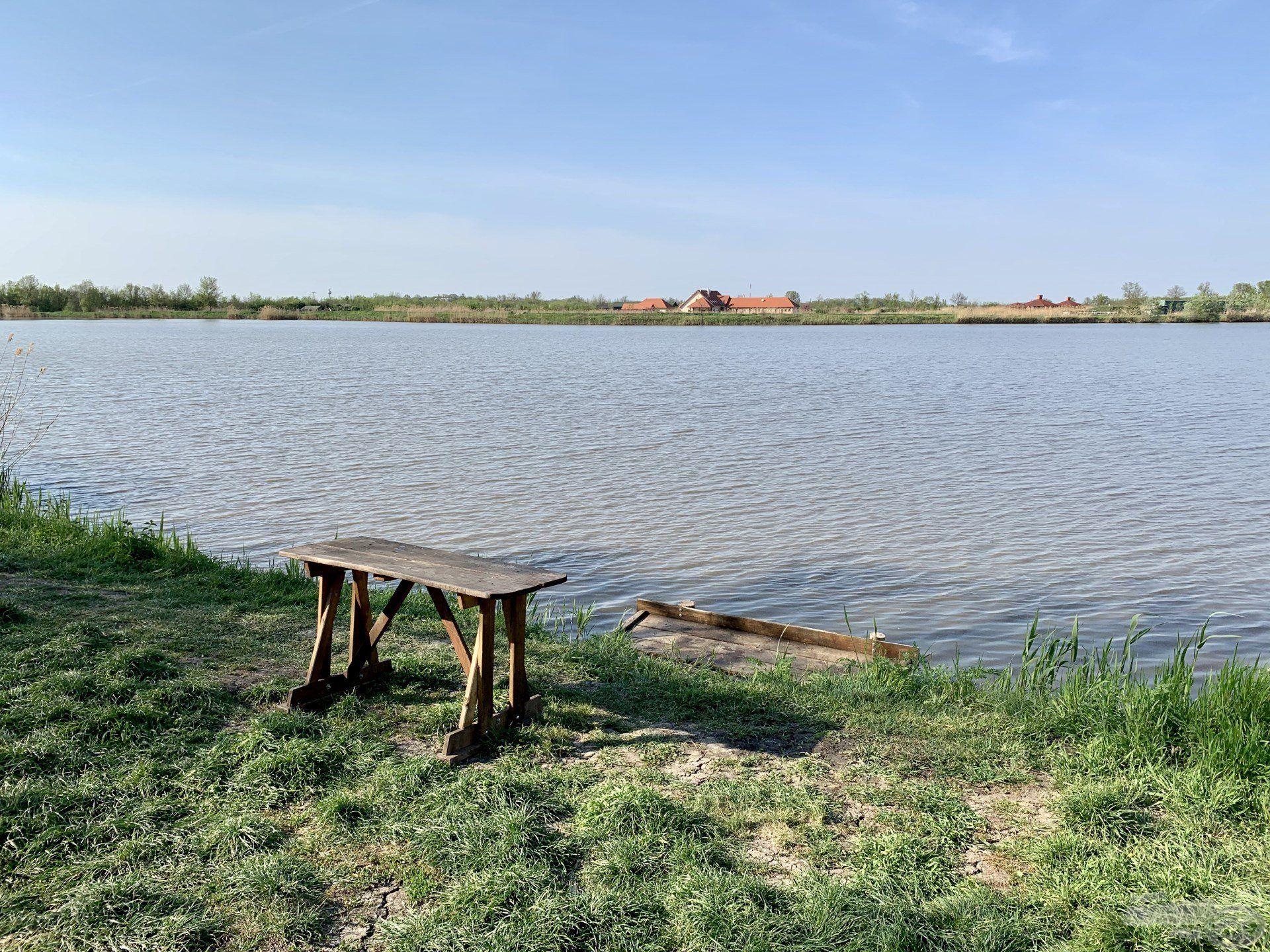 … ahol igényesen kialakított horgászhelyek várják a horgászokat