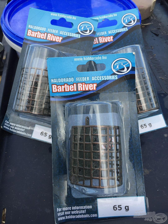 A Haldorádó Barbel River Feeder egy kiváló folyóvízi etetőkosár