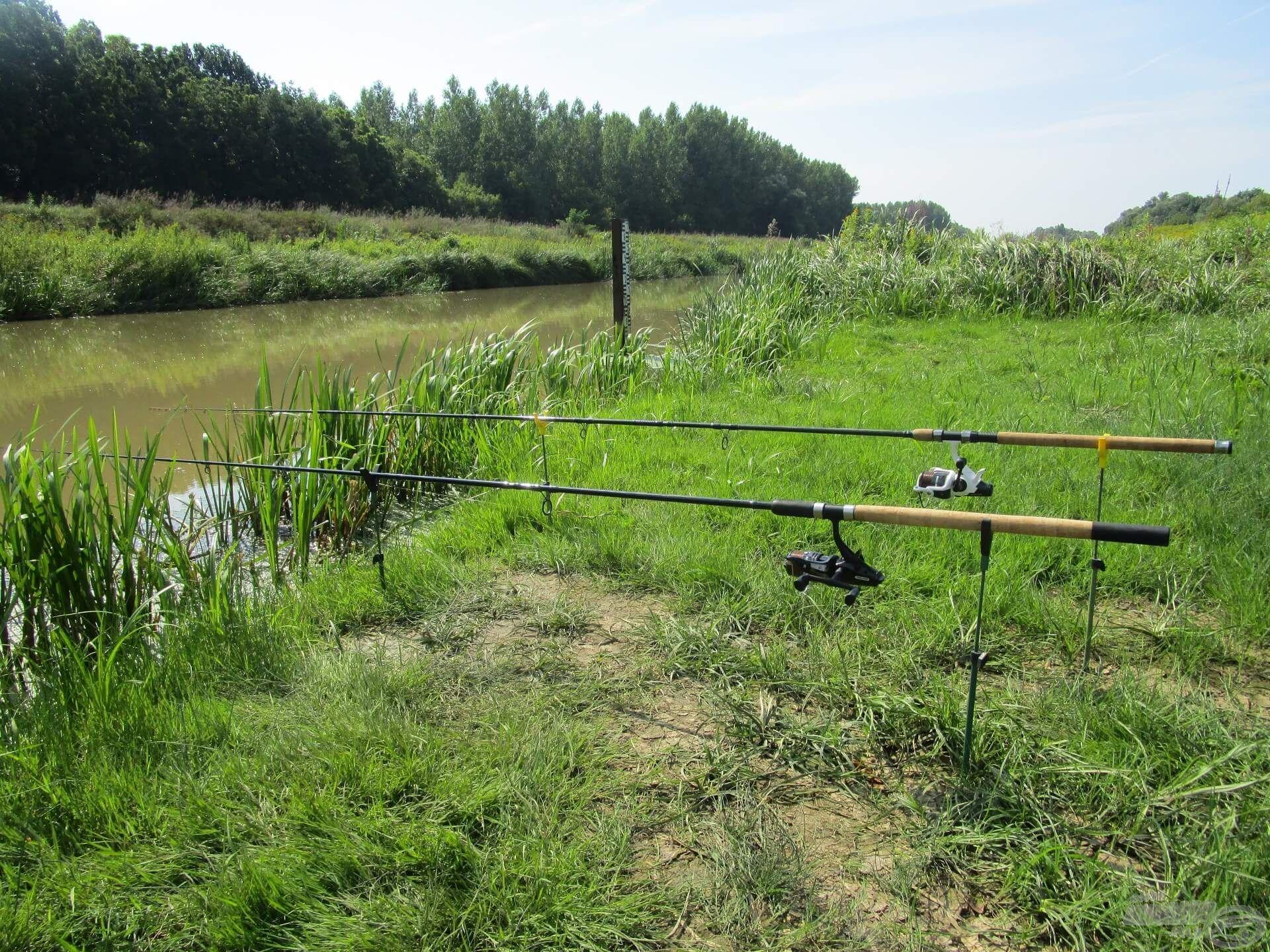 Ha két bottal horgászom, nyeletőfékes orsókat használok