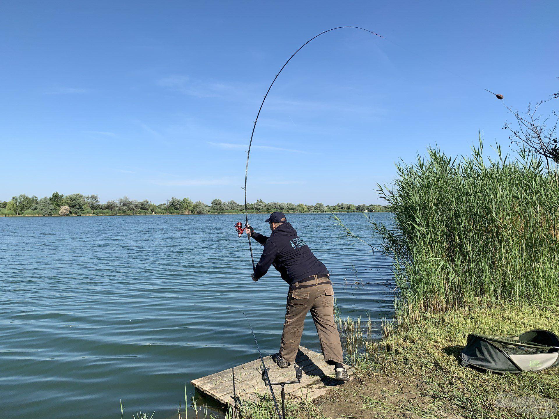 Minden kapitális halhoz egy jó dobással vezet az út