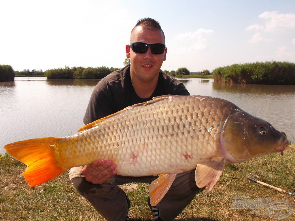 A nap legnagyobb hala, 9,14 kg, a negyedik nagytestű hal ezen a napon