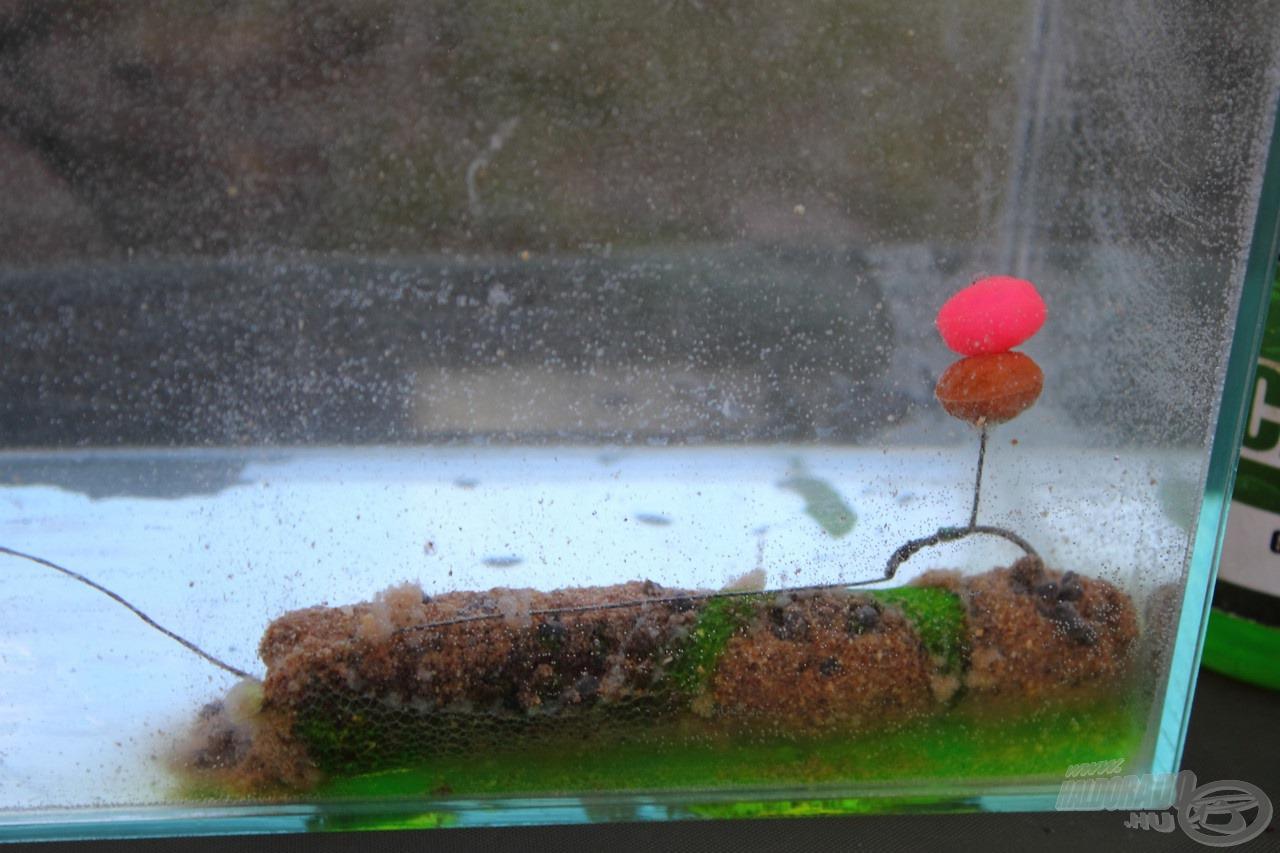 Az akváriumi kép jól szemlélteti a módszer gyakorlati működését