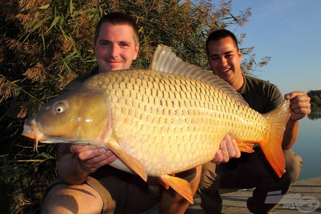 Egy őszi csodaszép hal