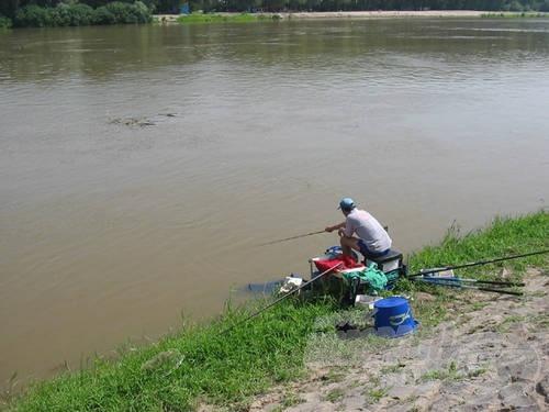 Voltak, akik vékony spiccbotokkal faggatták a folyót…