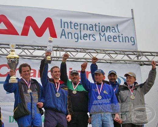A csapatverseny győztese a német Champions-Team Herren I. lett 69 ponttal