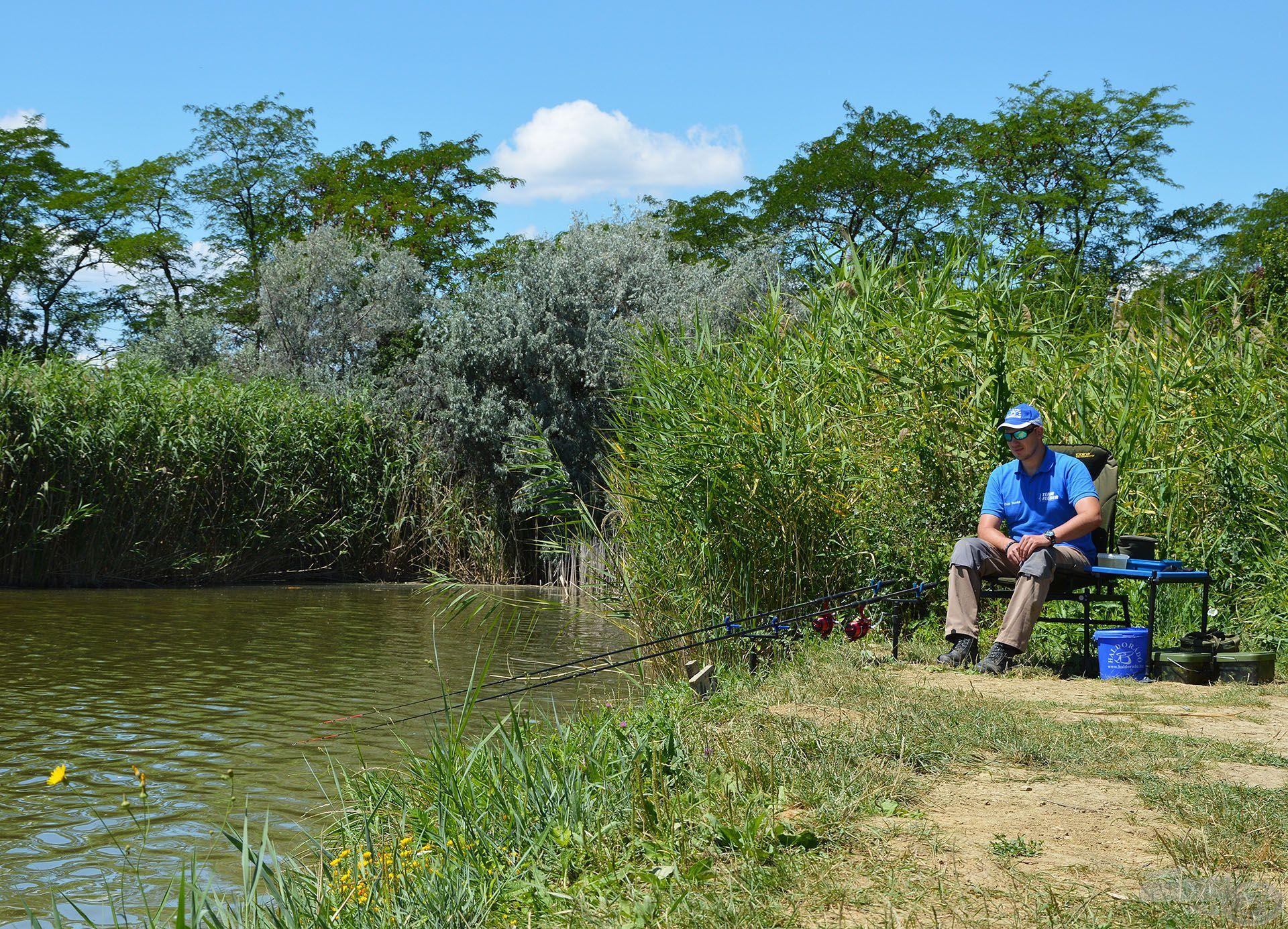 Szinte érezni a természet lüktetését, imádok ilyen helyeken horgászni!