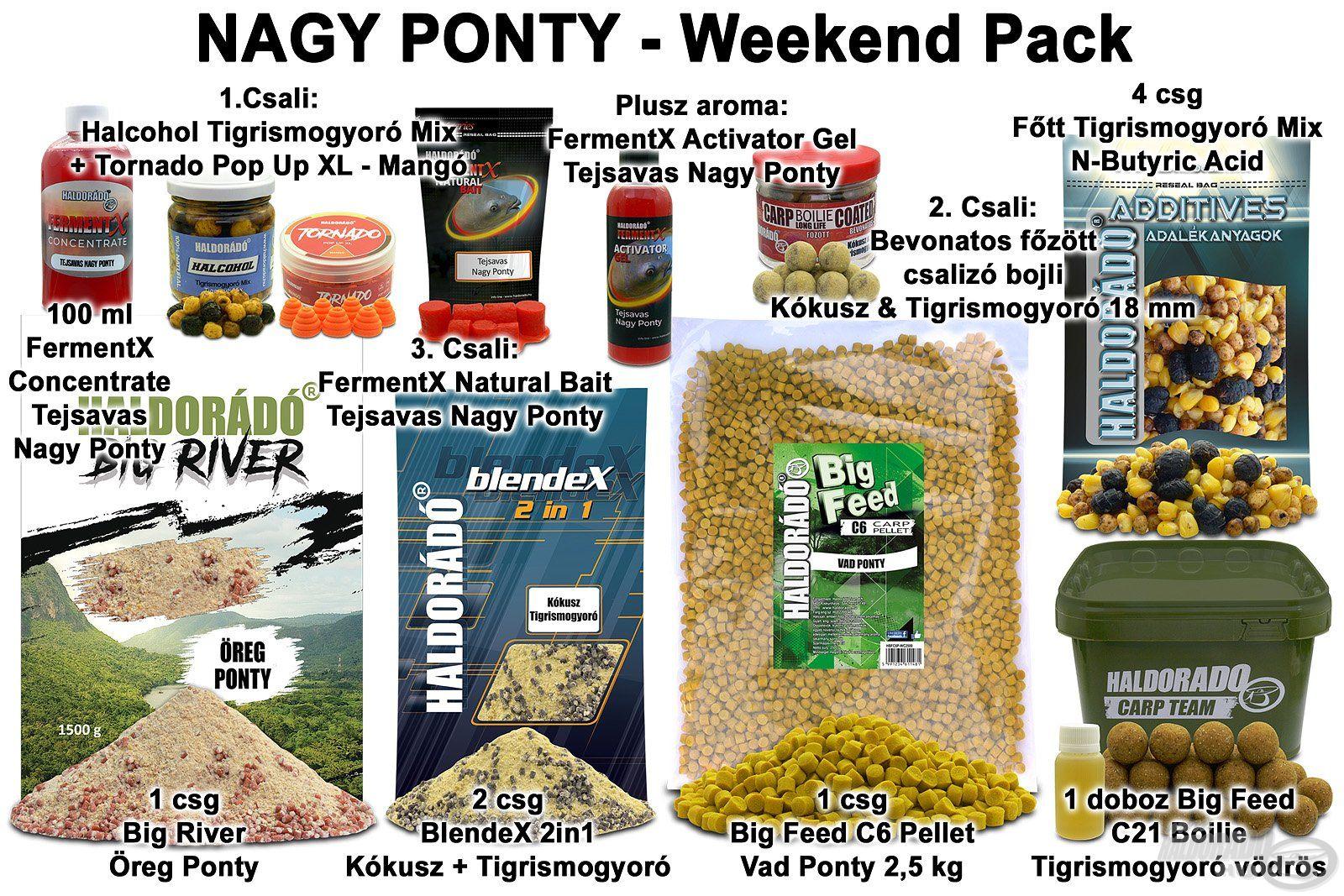NAGY PONTY – Weekend Pack
