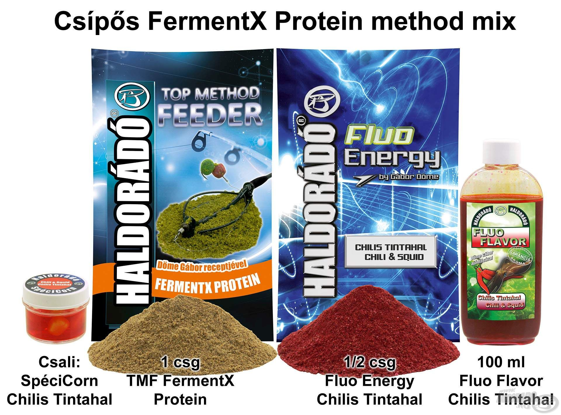Csípős FermentX Protein method mix