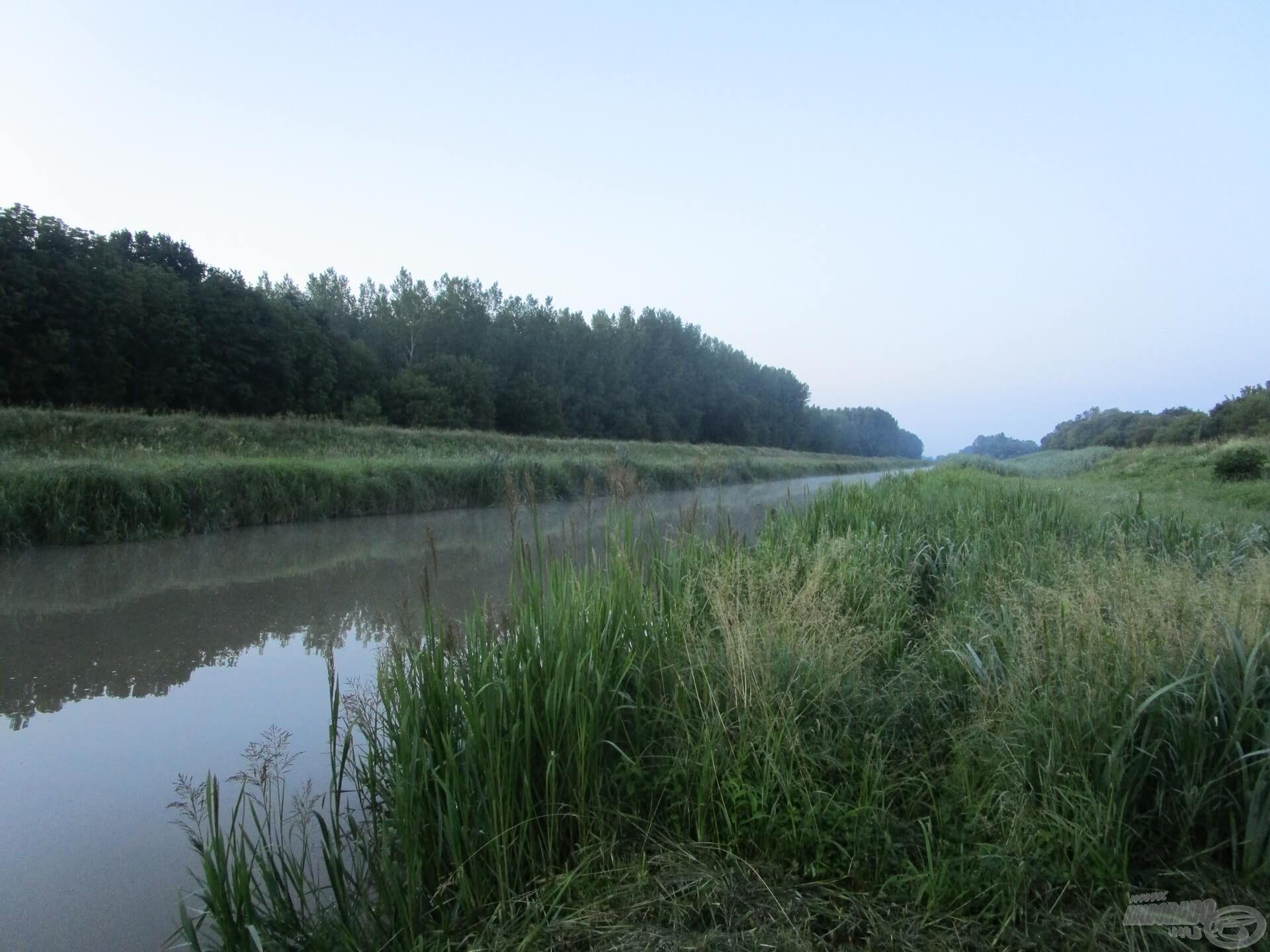 Sokadik képem ez már a reggeli Zala folyóról, de amikor megérkezem, mindig egy fotóval kezdek