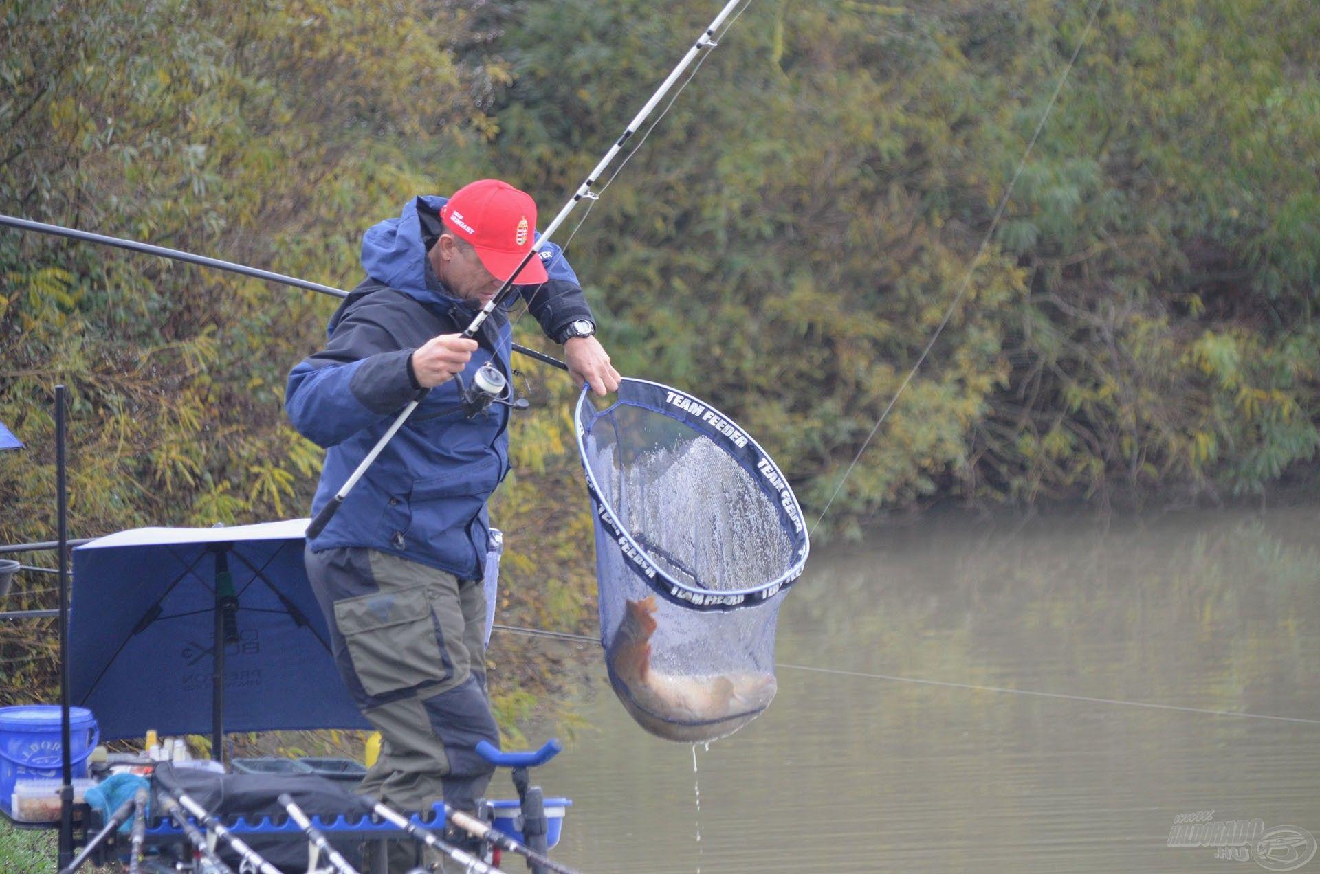 Stratégiánk szerves része volt a nagytestű halak céltudatos megfogása