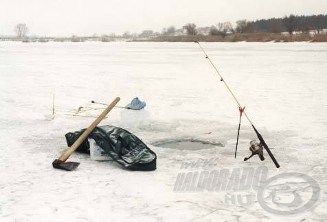 A léki horgászat engedélyezett Palotáson, ez bizony komoly lehetőséget rejt magában a téli, unalmas napokon