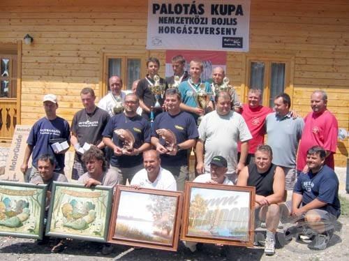 Több horgászversenyt is rendeznek a Palotási-tározón, melyek már mind országos hírnévnek örvendnek. A Palotási bojlis verseny az első ilyen jellegű verseny volt az országban, mely manapság is osztatlan népszerűségnek örvend a bojlis horgászok körében