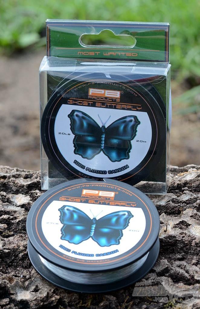 A Ghost Butterfly két méretben, 20 és 27 lb-s változatban kapható
