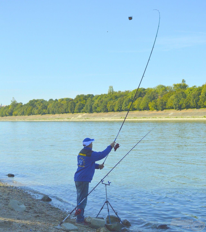 Repül a Big River kosár telis-tele márnacsemegével…