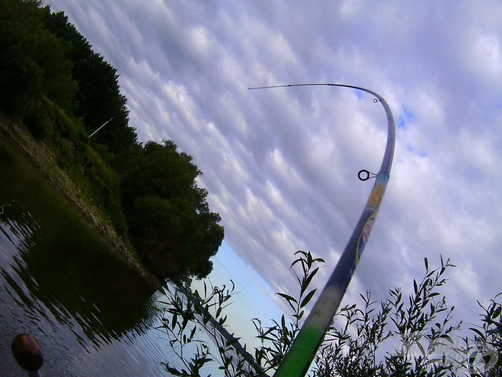 Horgászszívet melengető látvány