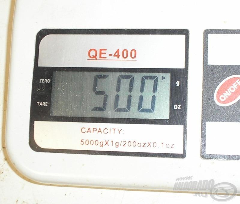A magas fehérjetartalmú etetőanyagoknál 50%-os, míg a magas szénhidráttartalmú keverékek esetén 40%-os keverési arányt javaslok