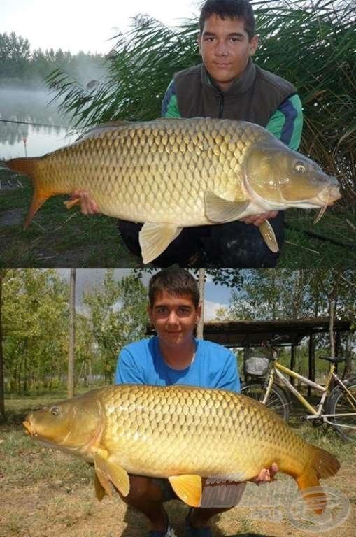 10 kg feletti halakból az előző szezonban sem szenvedett hiányt :)