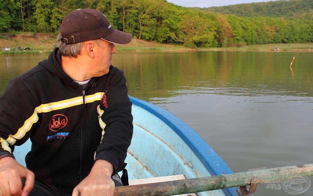 Az alapos helyválasztás, az átgondolt etetés a sikeres horgászat feltétele