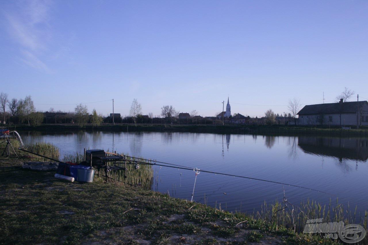 Kezdődhet a horgászat